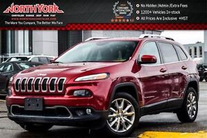 2016 Jeep Cherokee Limited|PanoSunroof|Nav|HtdFrontSeats|R-Start