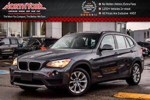 2013 BMW X1 28i xDrive|Pano_Sunroof|Nav|FR/RR Pkng Sensors|HTD