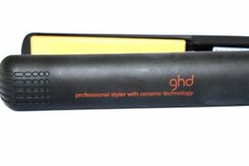 GHD 4.2b Black Hair Straighteners - Working in Good Condition