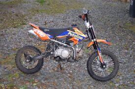 Stomp 120 pit bike