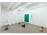 Studio / Gallery spaces available