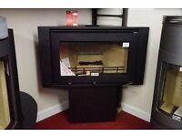 Westfire Uniq 32 (Corner) Wood burning stove