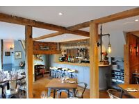Kitchen Porters Needed to Join Fantastic Team Creating Incredible Food in Beautiful New Restaurant