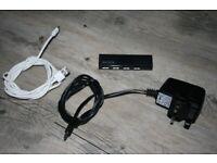Belkin 4-Port USB Mains Powered Hub