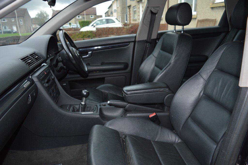 black audi a4 interior. audi a4 b6 black leather sports seats interior rear folding black audi interior