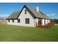 Beautiful family home in rural Scottish Highland location