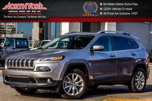 2016 Jeep Cherokee Limited|4X4|PanoSunroof|Nav.|Leather|Backup_C
