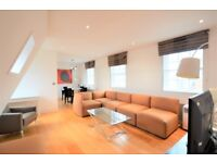 A bright and spacious two double bedroom apartment near High Street Kensington Station
