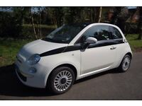 """For sale is my Mum's Fiat 500 """"Twinair"""" hardly been used. Selling due to her ill health"""