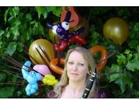 Balloon Modelling and Live Music (optional) with Betty B Balloons and The Musical Balloon Band