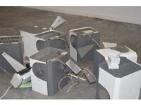 7 x Cloudgen 9KW hot air heaters