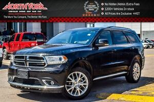 2016 Dodge Durango Limited|4x4|7Seater|RearEnt.Pkg|Sunroof|Nav|R