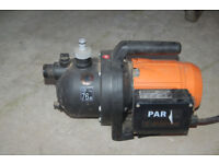 Electric Surface Water Pump