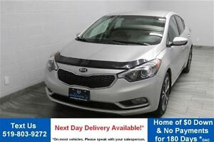 2014 Kia Forte EX 6-SPEED w/ REVERSE CAMERA! HEATED SEATS! BLUET