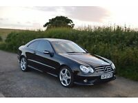 2007 Mercedes CLK 320 CDI Sport Auto 7G-Tronic Would PX with Mercedes S320 CDI or E320 CDI, C320 CDI