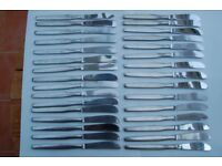 Viners 'Profile', 'Barnum' & Penthouse Suite Cutlery , Most with Viners Mark and in Excellent Cond.