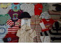 Bundle of clothes for boy 6 -12 months.