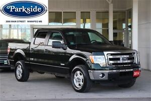 2014 Ford F-150 XLT Crew Cab 4x4 3.5 Ecoboost Local One Owner Tr