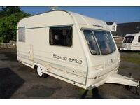 CARAVAN AVONDALE RIALTO 390/2 WITH FULL SIZE AWNING AND MOTOR MOVER