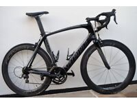 2015 Specialized Venge Expert Size 58 with Roval CLX60 Rapide Wheels Road Bike