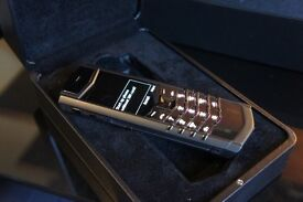 Genuine As new Vertu Signature S Black PVD - Fully Boxed with Certificate of Authenticity