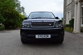 2011 Land Rover Range Rover Sport 3.0 SD V6 HSE Station Wagon 5dr Diesel Power Shift New Alloys