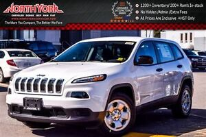 2017 Jeep Cherokee New Car Sport Bluetooth Connectivity AC Tract