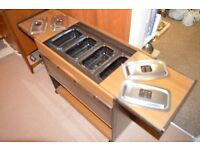 Phillips Hostess Trolley Perfect for Christmas Catering