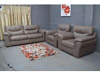 EX DISPLAY SCS DAYSON 3 Seater +2 Armchairs In Grey Or Corner