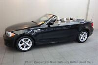 2012 BMW 128I CABRIOLET CONVERTIBLE! 1 OWNER! LEATHER! ALLOYS! C