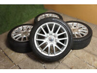 "Genuine VW Golf MK5 17"" Classix Alloy wheels 5x112 VW Caddy Touran GTi GTD Audi A3 A4 Alloys"