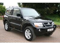 MITUSBISHI SHOGUN WARRIOR, SWB, AUTO DIESEL, 102,000 MILES, 11 M MOT, BLACK LEATHER INTERIOR 2007