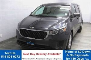 2016 Kia Sedona LX! 8 PASSENGER! REVERSE CAMERA! REAR A/C! POWER