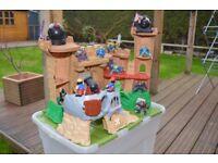 Fisher Price Magic Castle LOT Drawbridge Lights Sounds Figures + extras