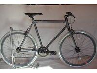 Brand new single speed fixed gear fixie bike/ road bike/ bicycles + 1year warranty & free service 7