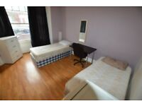 twin room in Turnpike lane - fully furnished and all bills included - £180 per week