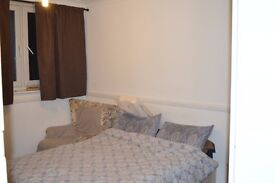Double bedroom with fitted wardrobes and close to transport links