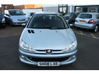 Peugeot 206 Look 1.4 Low Mileage Only 32000 Miles Showroom condition
