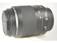 Canon EF 80-200mm F/4.5-5.6 II EF Lens SLR DSLR Auto Focus EXCELLENT CONDITION