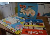 Waddington's Go Travel Board Game Vintage Retro 1961