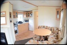 DOUBLE GLAZED AND CENTRAL HEATED CARAVAN AT SOUTHERNESS