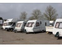 Caravan Campervan Motorhome Parking and Storage