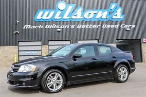 2014 Dodge Avenger SXT $53/WK, 4.74% ZERO DOWN! SUNROOF! NEW TIR