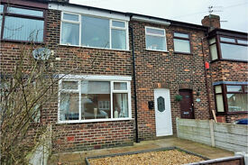 Rent to Buy this immaculate 3 bed mid terrace house, 172 Bell Lane, Orrell, Wigan, WN5 0DA.