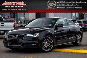 2016 Audi A5 Progressiv Plus|S-Line|CleanCarProof/1-Owner|Sunro
