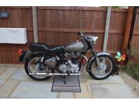 Royal Enfield 500cc with Amal carburettor