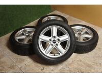 "4x Genuine Mini 16"" Counrtyman Paceman Alloy Wheels & Winter Tyres 5x120 R60 R61 alloys"