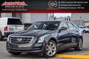 2016 Cadillac ATS Luxury Collection|AWD|Sunroof|RearCam|ParkSeno
