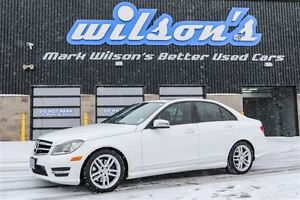 2014 Mercedes-Benz C-Class C300 AWD LEATHER! NAVIGATION! SUNROOF