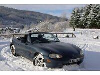 Lovely Mazda MX5 1.8iS FSH Full s/s exhaust, LSD, excellent condition.